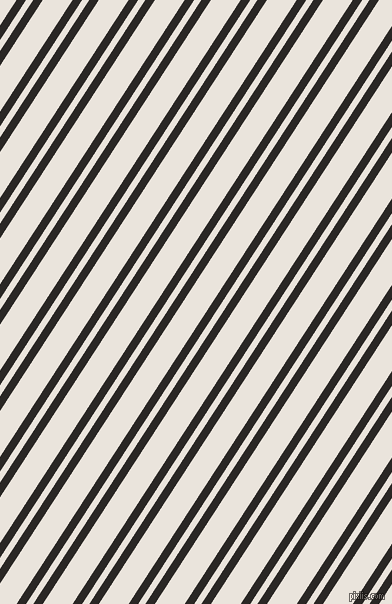 57 degree angle dual stripe lines, 8 pixel lines width, 6 and 25 pixel line spacing, Bokara Grey and Pampas dual two line striped seamless tileable