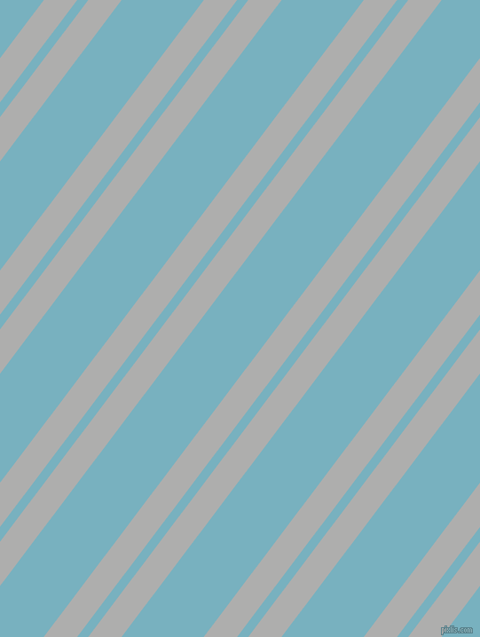 53 degree angle dual stripes line, 30 pixel line width, 10 and 74 pixel line spacing, Bombay and Glacier dual two line striped seamless tileable
