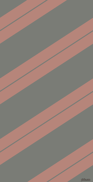 33 degree angles dual stripes lines, 41 pixel lines width, 4 and 115 pixels line spacing, Brandy Rose and Gunsmoke dual two line striped seamless tileable