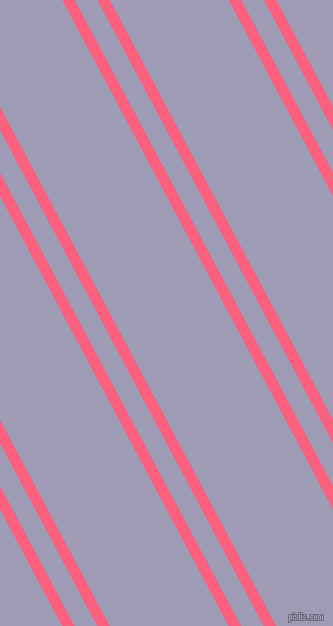 118 degree angles dual stripes line, 11 pixel line width, 20 and 105 pixels line spacing, Brink Pink and Logan dual two line striped seamless tileable