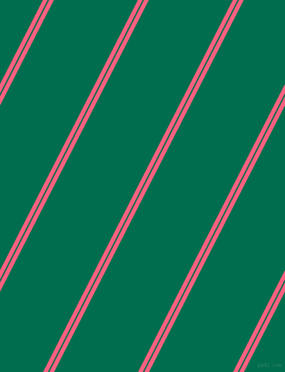 63 degree angles dual stripes lines, 6 pixel lines width, 2 and 108 pixels line spacing, Brink Pink and Watercourse dual two line striped seamless tileable