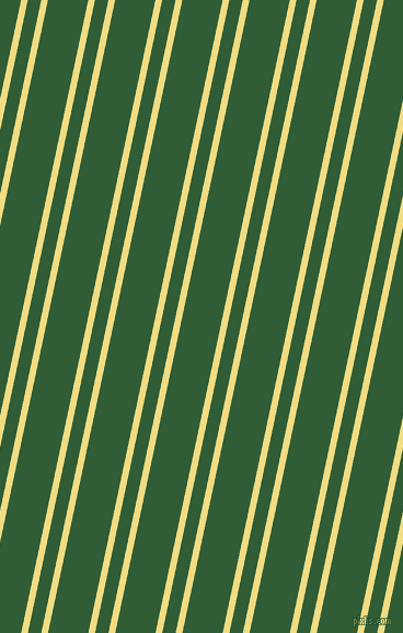 78 degree angles dual striped line, 6 pixel line width, 12 and 36 pixels line spacing, Buff and Parsley dual two line striped seamless tileable