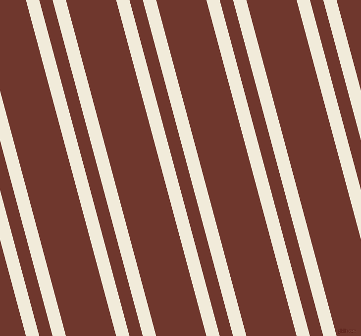 105 degree angles dual stripe line, 26 pixel line width, 26 and 98 pixels line spacing, Buttery White and Mocha dual two line striped seamless tileable