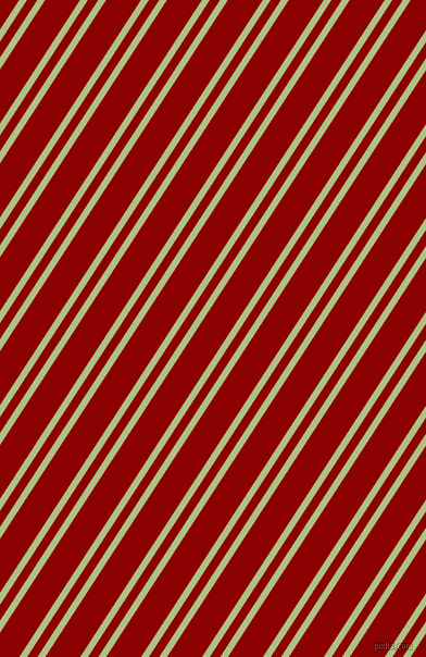 57 degree angles dual stripe lines, 6 pixel lines width, 8 and 27 pixels line spacing, Caper and Dark Red dual two line striped seamless tileable