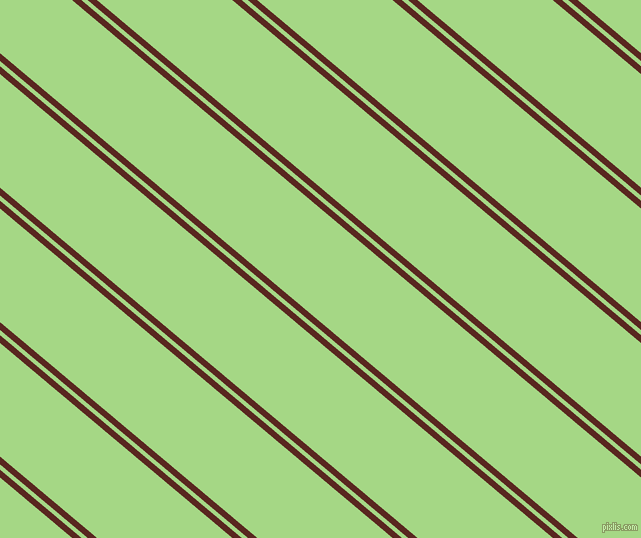 140 degree angle dual striped line, 6 pixel line width, 4 and 87 pixel line spacing, Caput Mortuum and Feijoa dual two line striped seamless tileable