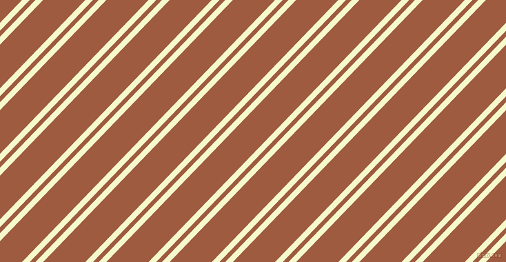 46 degree angles dual stripes lines, 8 pixel lines width, 6 and 44 pixels line spacing, Carla and Sepia dual two line striped seamless tileable