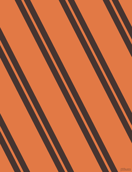 117 degree angle dual striped lines, 20 pixel lines width, 8 and 88 pixel line spacing, Cedar and Jaffa dual two line striped seamless tileable
