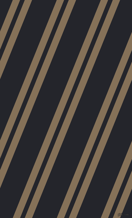 68 degree angle dual stripes lines, 22 pixel lines width, 14 and 74 pixel line spacing, Cement and Black Russian dual two line striped seamless tileable