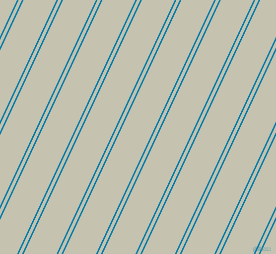 65 degree angles dual striped lines, 3 pixel lines width, 6 and 60 pixels line spacing, Cerulean and Kangaroo dual two line striped seamless tileable