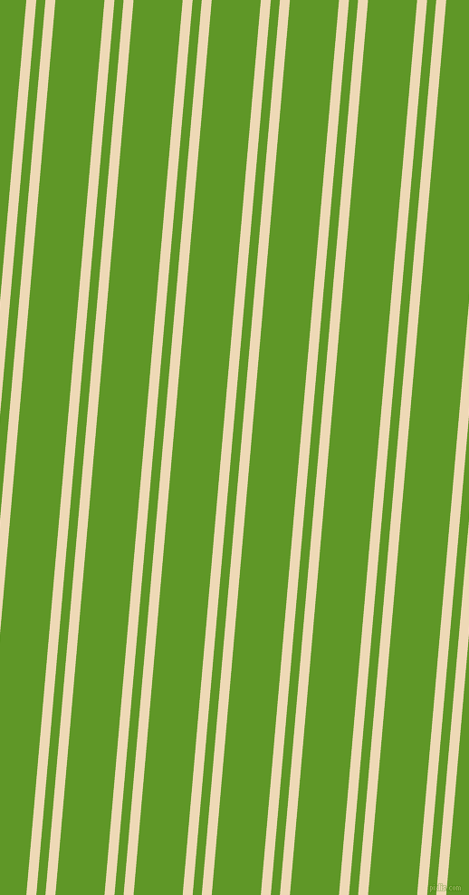 85 degree angle dual stripe line, 11 pixel line width, 10 and 54 pixel line spacing, Champagne and Limeade dual two line striped seamless tileable