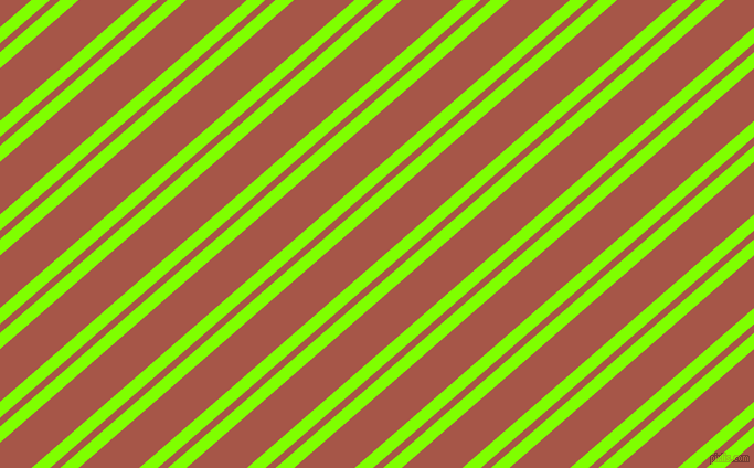 41 degree angle dual stripe line, 11 pixel line width, 6 and 36 pixel line spacing, Chartreuse and Crail dual two line striped seamless tileable