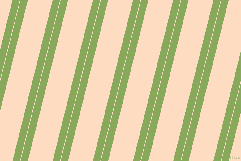 76 degree angles dual striped line, 23 pixel line width, 2 and 78 pixels line spacing, Chelsea Cucumber and Karry dual two line striped seamless tileable