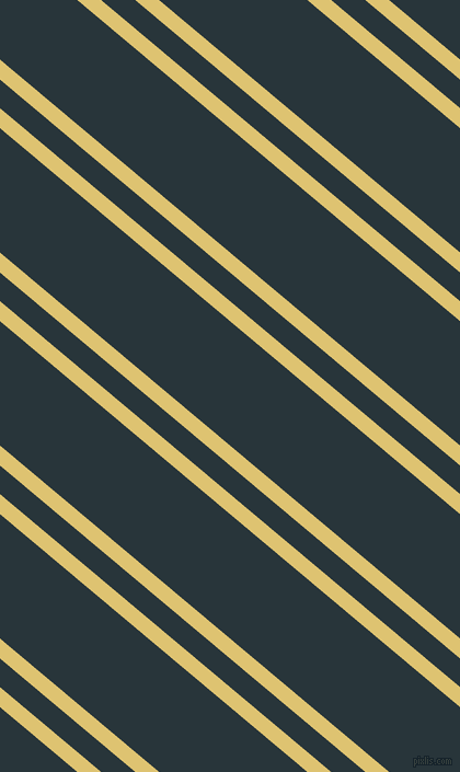 140 degree angles dual striped lines, 14 pixel lines width, 20 and 87 pixels line spacing, Chenin and Oxford Blue dual two line striped seamless tileable