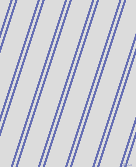 72 degree angles dual stripes lines, 7 pixel lines width, 8 and 63 pixels line spacing, Chetwode Blue and Gainsboro dual two line striped seamless tileable