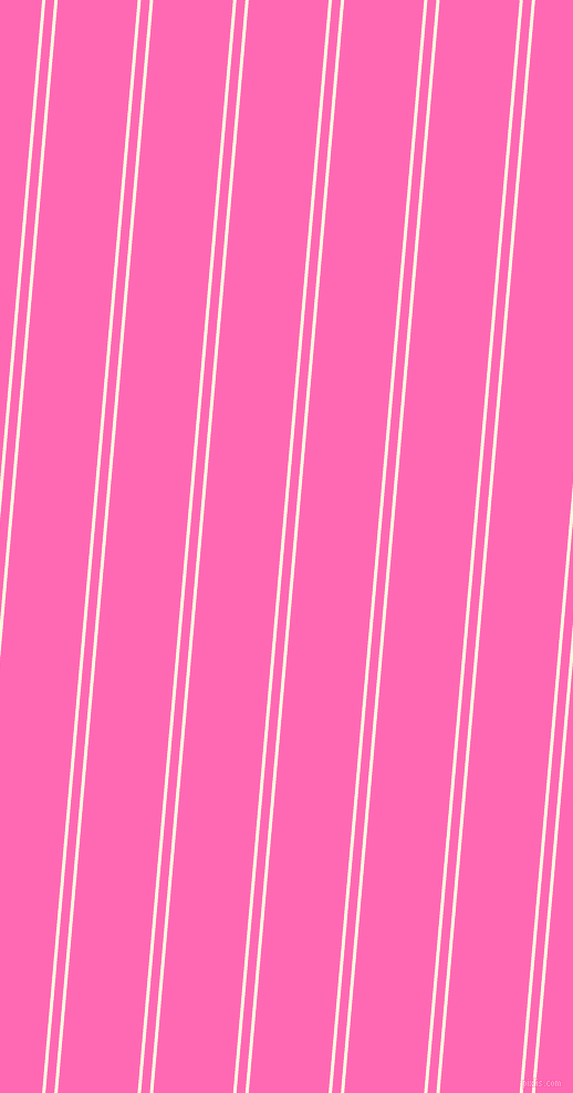 85 degree angle dual stripe lines, 3 pixel lines width, 8 and 72 pixel line spacing, Chilean Heath and Hot Pink dual two line striped seamless tileable