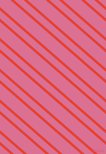 139 degree angles dual stripe lines, 8 pixel lines width, 20 and 39 pixels line spacing, Cinnabar and Pale Violet Red dual two line striped seamless tileable