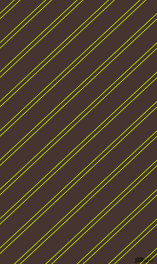 43 degree angles dual stripes lines, 2 pixel lines width, 6 and 33 pixels line spacing, Citrus and Cedar dual two line striped seamless tileable