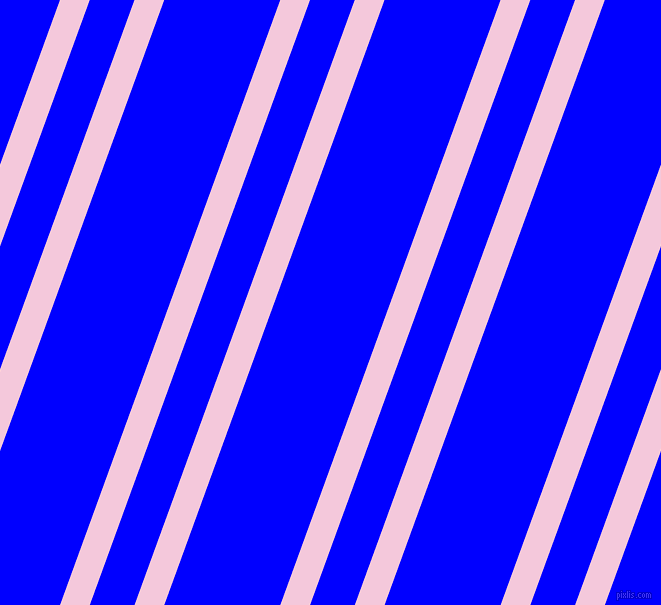 70 degree angles dual stripe line, 28 pixel line width, 42 and 109 pixels line spacing, Classic Rose and Blue dual two line striped seamless tileable