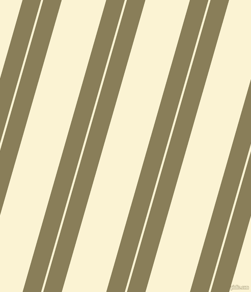 74 degree angles dual stripe line, 35 pixel line width, 4 and 84 pixels line spacing, Clay Creek and China Ivory dual two line striped seamless tileable