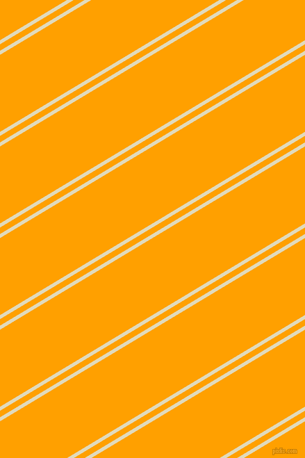 31 degree angles dual stripes lines, 5 pixel lines width, 8 and 95 pixels line spacing, Coconut Cream and Orange Peel dual two line striped seamless tileable