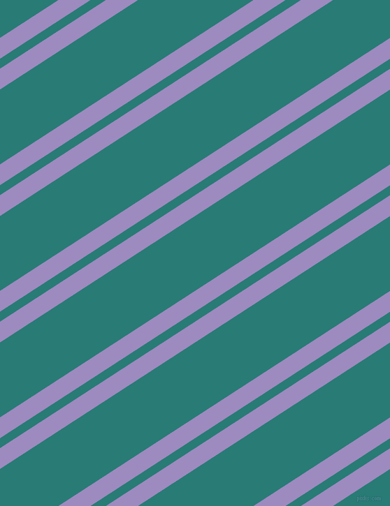 33 degree angles dual stripe line, 25 pixel line width, 12 and 90 pixels line spacing, Cold Purple and Elm dual two line striped seamless tileable