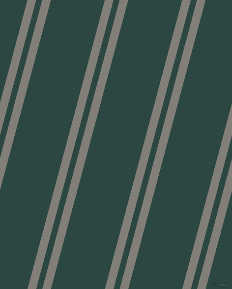 75 degree angles dual stripe lines, 17 pixel lines width, 12 and 106 pixels line spacing, Concord and Gable Green dual two line striped seamless tileable