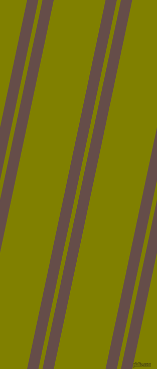 78 degree angles dual striped line, 22 pixel line width, 8 and 101 pixels line spacing, Congo Brown and Olive dual two line striped seamless tileable