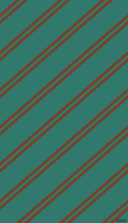 41 degree angles dual stripes line, 10 pixel line width, 8 and 70 pixels line spacing, Copper Canyon and Genoa dual two line striped seamless tileable