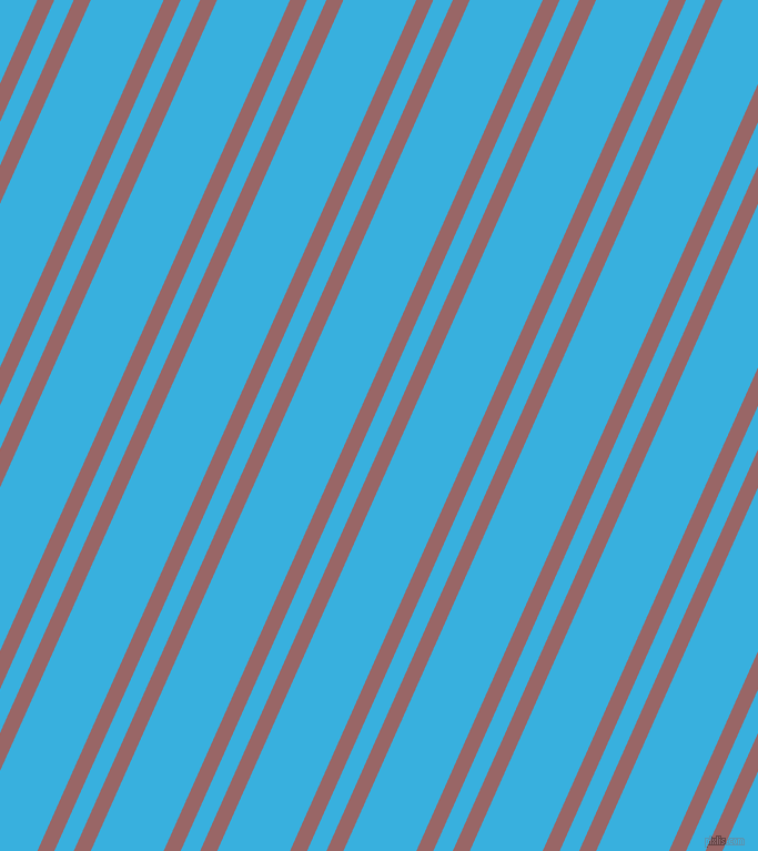66 degree angles dual stripe line, 14 pixel line width, 16 and 60 pixels line spacing, Copper Rose and Summer Sky dual two line striped seamless tileable