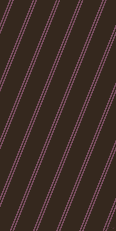 68 degree angles dual striped line, 5 pixel line width, 4 and 60 pixels line spacing, Cosmic and Cocoa Brown dual two line striped seamless tileable