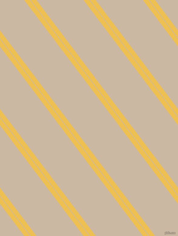 127 degree angles dual stripe lines, 15 pixel lines width, 2 and 124 pixels line spacing, Cream Can and Grain Brown dual two line striped seamless tileable