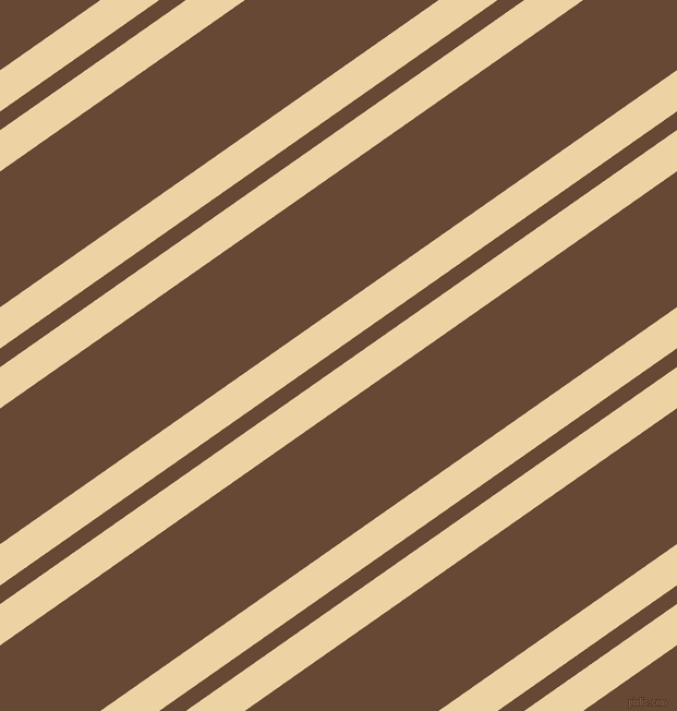 35 degree angle dual stripes lines, 31 pixel lines width, 14 and 102 pixel line spacing, Dairy Cream and Jambalaya dual two line striped seamless tileable
