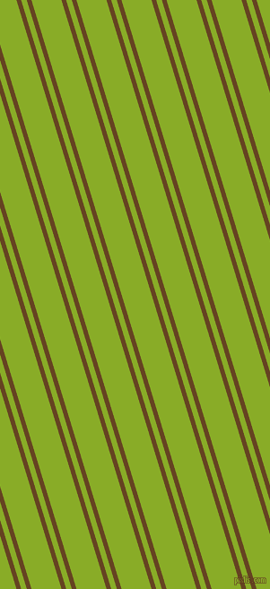 107 degree angles dual striped lines, 5 pixel lines width, 6 and 32 pixels line spacing, Dark Brown and Limerick dual two line striped seamless tileable