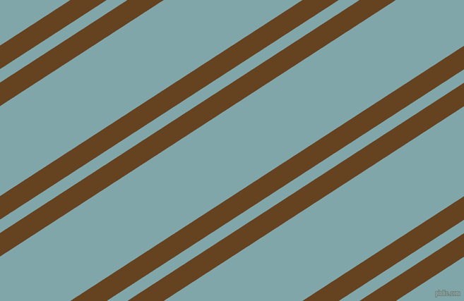 33 degree angle dual stripes line, 28 pixel line width, 16 and 107 pixel line spacing, Dark Brown and Ziggurat dual two line striped seamless tileable