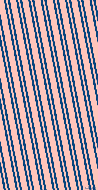 101 degree angles dual striped line, 7 pixel line width, 6 and 20 pixels line spacing, Dark Cerulean and Your Pink dual two line striped seamless tileable