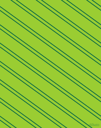 144 degree angle dual striped lines, 3 pixel lines width, 8 and 38 pixel line spacing, Dark Spring Green and Yellow Green dual two line striped seamless tileable