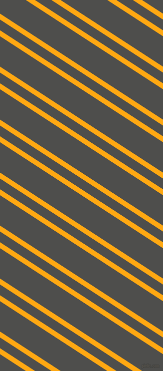 147 degree angle dual stripes line, 10 pixel line width, 18 and 51 pixel line spacing, Dark Tangerine and Ship Grey dual two line striped seamless tileable