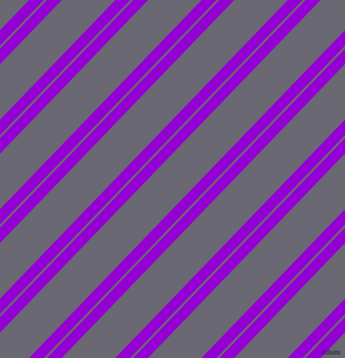 46 degree angle dual stripes lines, 21 pixel lines width, 4 and 75 pixel line spacing, Dark Violet and Dolphin dual two line striped seamless tileable