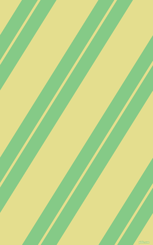 58 degree angle dual striped lines, 45 pixel lines width, 8 and 119 pixel line spacing, De York and Primrose dual two line striped seamless tileable