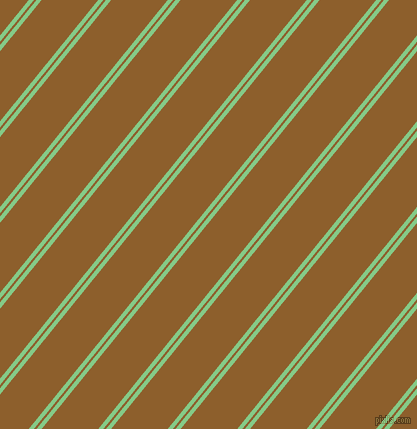 51 degree angles dual striped line, 4 pixel line width, 2 and 44 pixels line spacing, De York and Rusty Nail dual two line striped seamless tileable