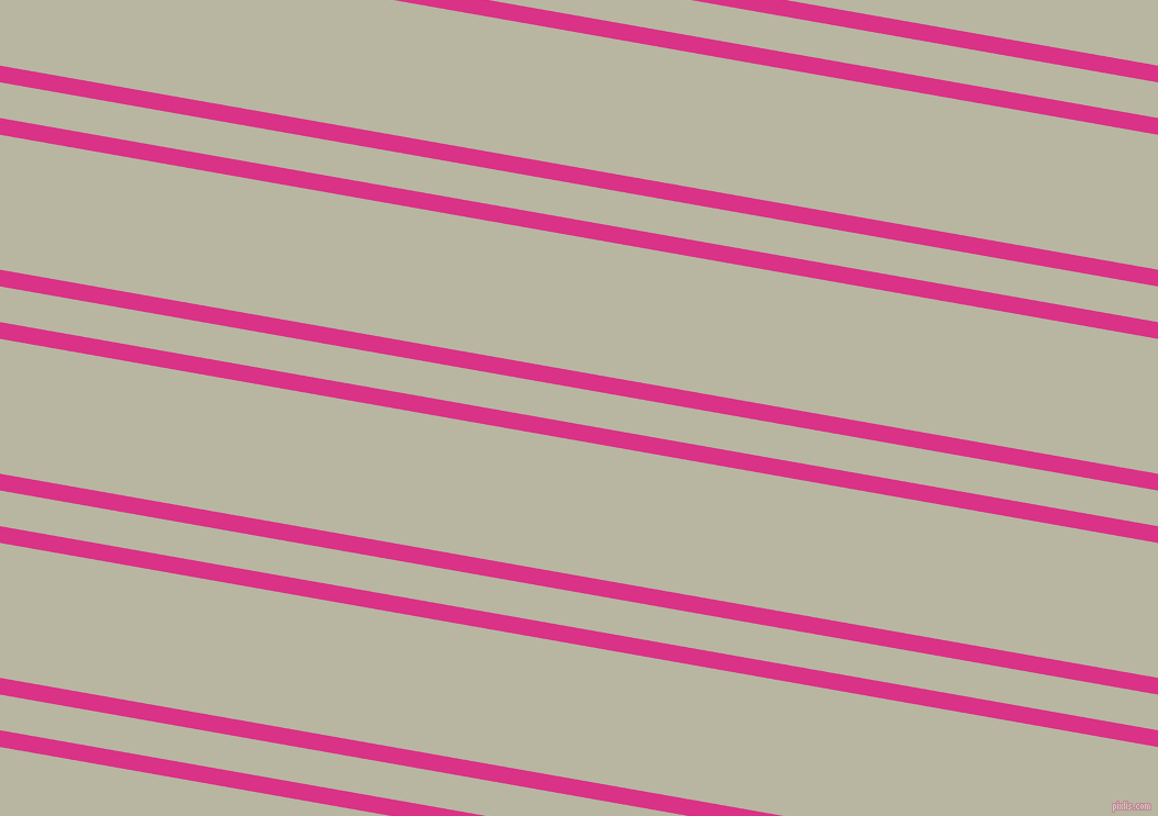 170 degree angles dual striped line, 15 pixel line width, 32 and 121 pixels line spacing, Deep Cerise and Tana dual two line striped seamless tileable