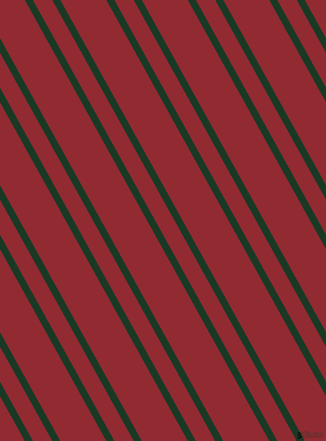 119 degree angle dual stripes lines, 10 pixel lines width, 24 and 57 pixel line spacing, Deep Fir and Bright Red dual two line striped seamless tileable