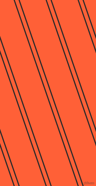 109 degree angle dual stripes lines, 4 pixel lines width, 12 and 84 pixel line spacing, Diesel and Outrageous Orange dual two line striped seamless tileable