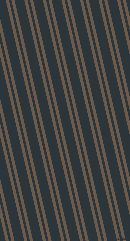 103 degree angles dual stripes lines, 10 pixel lines width, 8 and 31 pixels line spacing, Domino and Gunmetal dual two line striped seamless tileable