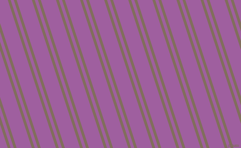 108 degree angles dual stripe lines, 9 pixel lines width, 10 and 48 pixels line spacing, Donkey Brown and Violet Blue dual two line striped seamless tileable