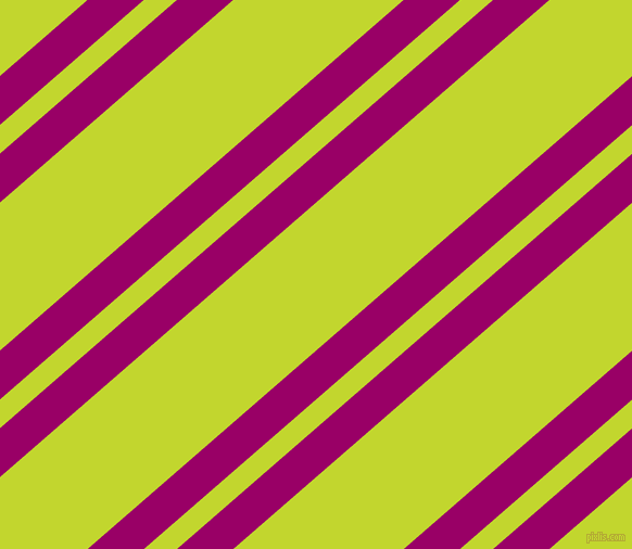 41 degree angles dual striped line, 34 pixel line width, 20 and 103 pixels line spacing, Eggplant and Fuego dual two line striped seamless tileable