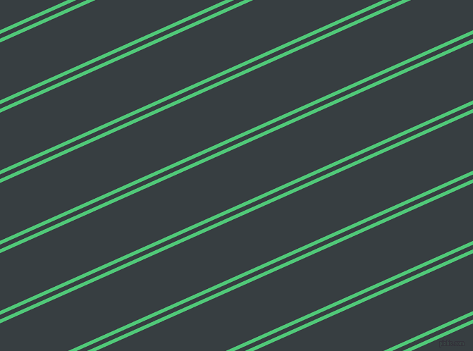24 degree angles dual striped lines, 5 pixel lines width, 6 and 75 pixels line spacing, Emerald and Mine Shaft dual two line striped seamless tileable