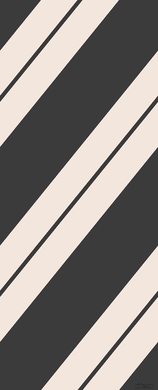 51 degree angle dual striped lines, 57 pixel lines width, 8 and 125 pixel line spacing, Fantasy and Fuscous Grey dual two line striped seamless tileable