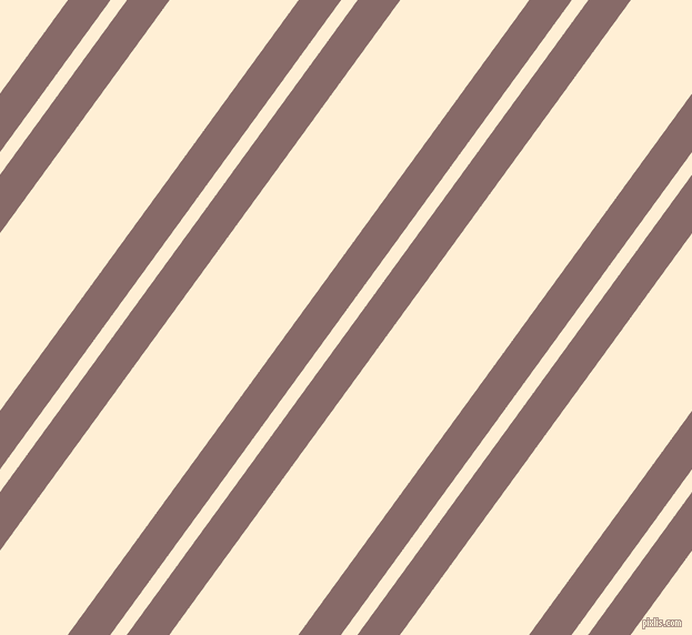 54 degree angle dual stripes lines, 31 pixel lines width, 12 and 94 pixel line spacing, Ferra and Papaya Whip dual two line striped seamless tileable