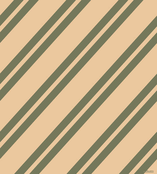48 degree angles dual striped lines, 25 pixel lines width, 14 and 71 pixels line spacing, Finch and New Tan dual two line striped seamless tileable